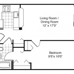 1 Bedroom | 1 Bath 579 Sq. Ft. $ Call For Pricing