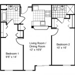 2 Bedroom | 2 Bath 872 Sq. Ft. $ Call For Pricing